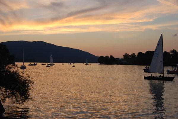 92_Tegernsee-Sonnenuntergang