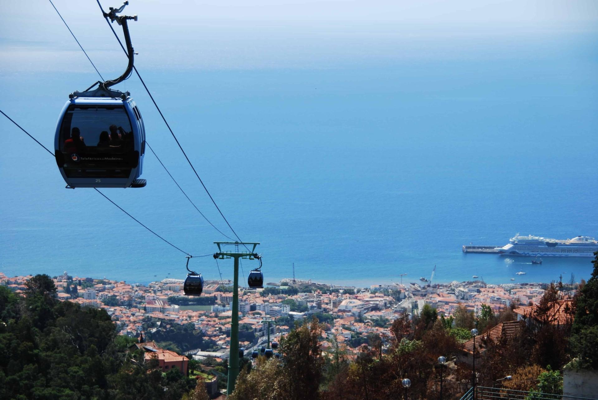 Monte Seilbahn AIDAstella Funchal Madeira
