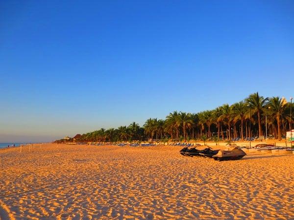 03_Hotel-The-Reef-Playacar-PlayaDelCarmen-Mexiko-Strand-Morgens