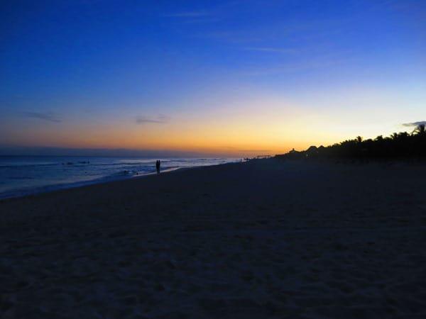 08_Strand-PlayaDelCarmen-Mexiko-Sonnenuntergang
