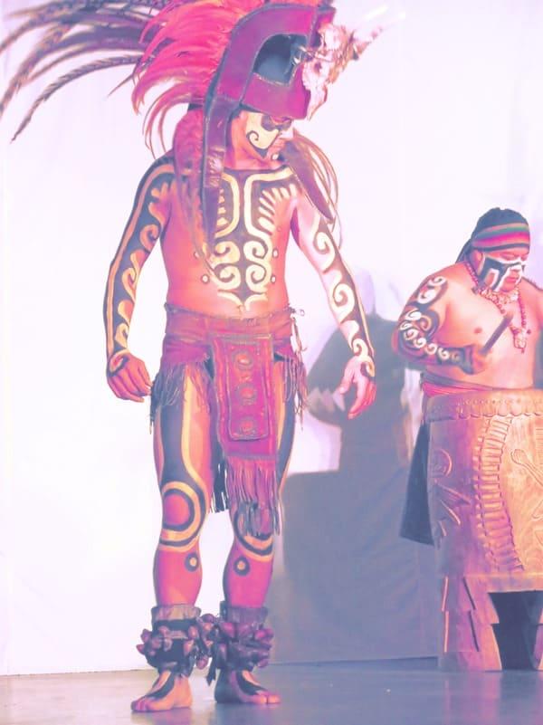 14_Maya-Show-Hotel-The-Reef-Playacar-Mexico-PlayaDelCarmen-Warrior