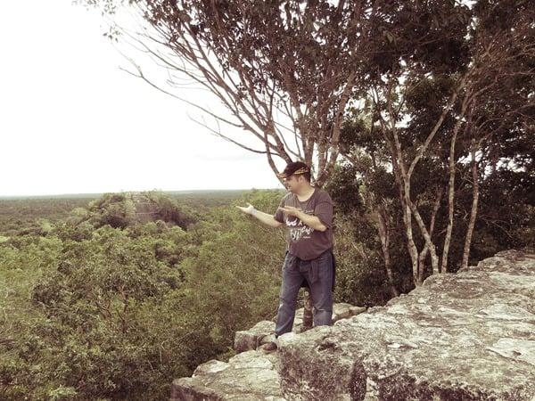 15_Maya-Ruine-Calakmul-Mexiko-Struktur-I-Pyramide-1-Daniel