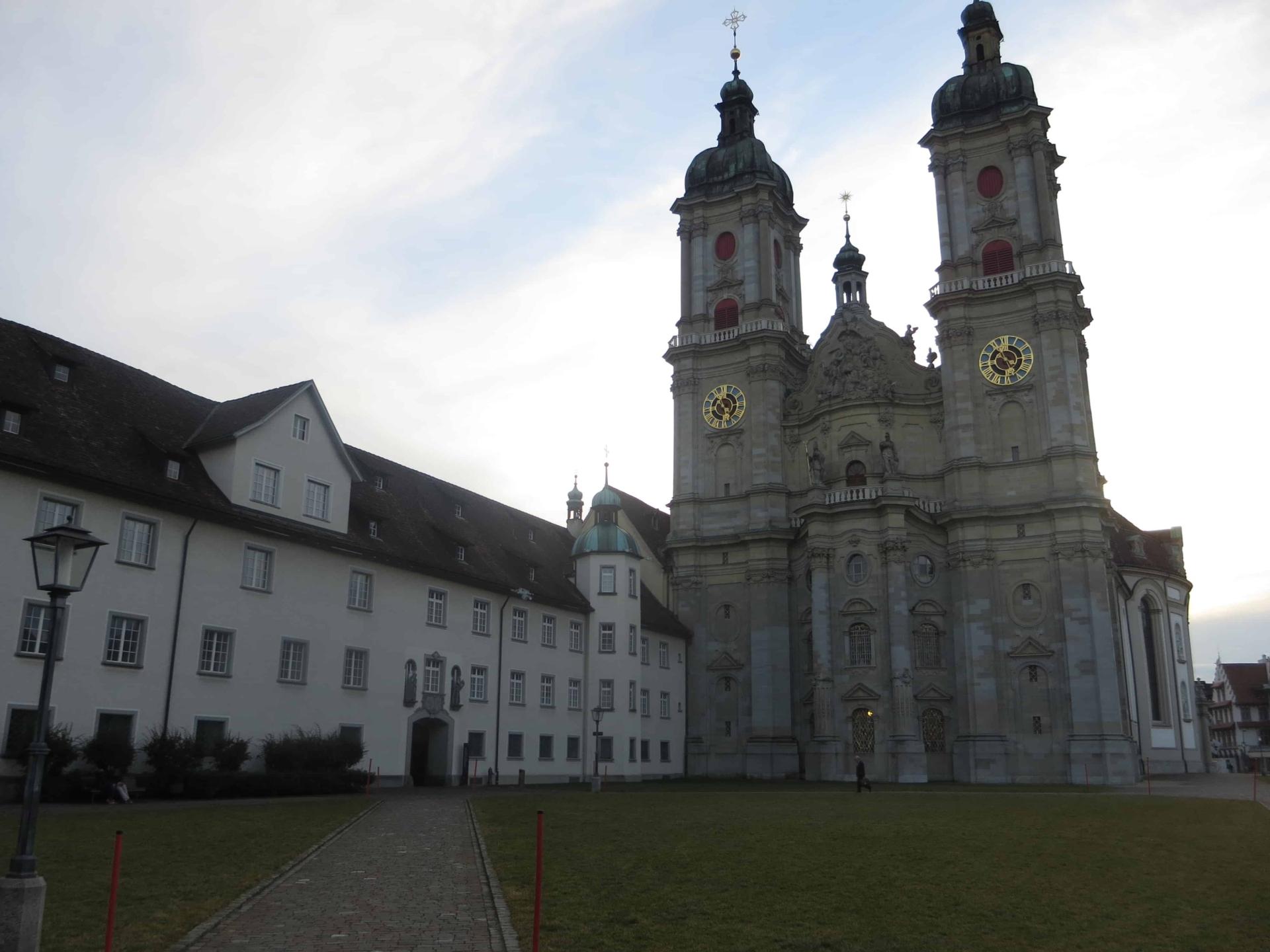 00 Fuerstabtei Kathedrale St.Gallen Schweiz