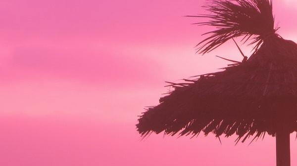 12_Sonnenschirm-Sonnenuntergang-Boa-Vista-Kapverden