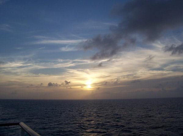 15_Sonnenuntergang-AIDAaura-Karibik
