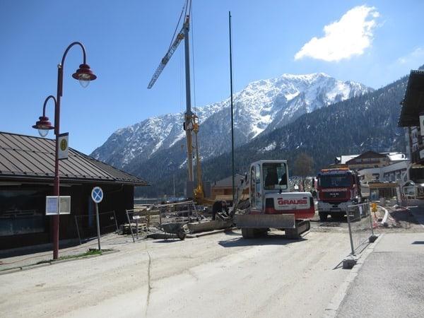 15_Baustelle-Uferpromenade-Pertisau-Achensee-Tirol-Oesterreicht