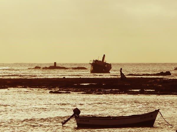 96_Abendstimmung-Schiffswrack-Sal-Rei-Boa-Vista-Kapverden