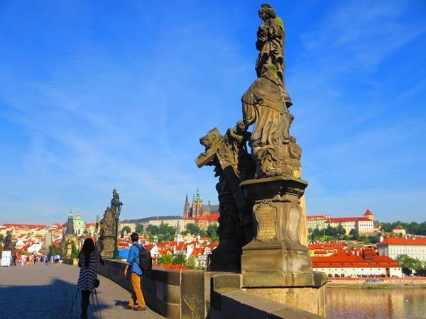 04_Karlsbruecke-Prager-Burg-Prag-Tschechei