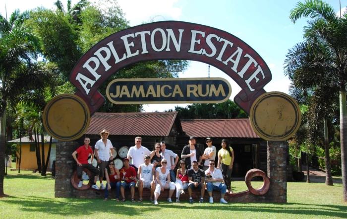 00 Gruppenbild Appleton Estate Jamaica Rum Jamaika