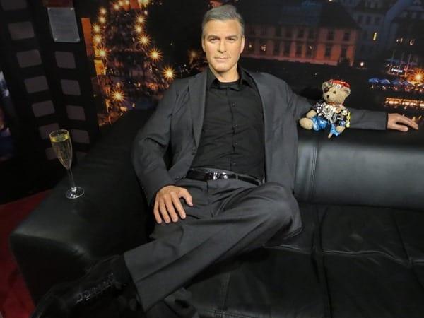 08_George-Clooney Jack-Bearow-Wachsfigurenmuseum-Prag-Tschechien