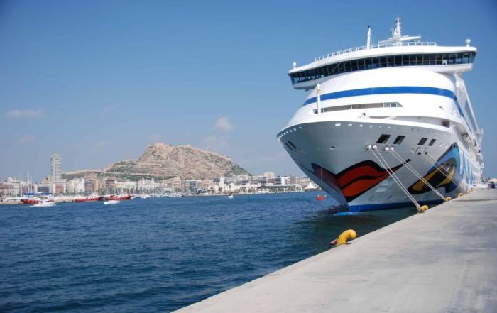 AIDAvita Kurzreise Hafen Alicante