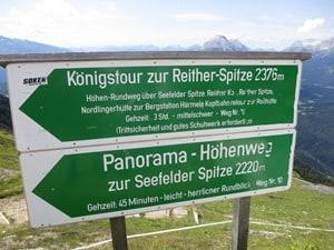 01_Wegweiser-Seefelder-Joch-Tirol-Oesterreich