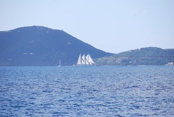 22_Dreimaster-Segelschiff-BVI-Virgin-Gorda-Karibik