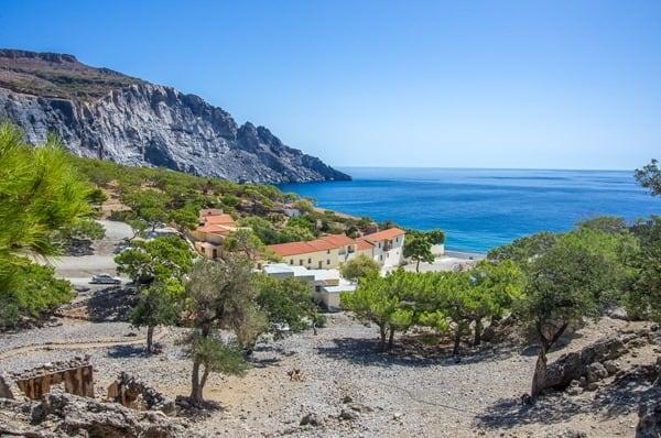 kreta-sueden-kloster-koudouma-griechenland-greece-crete