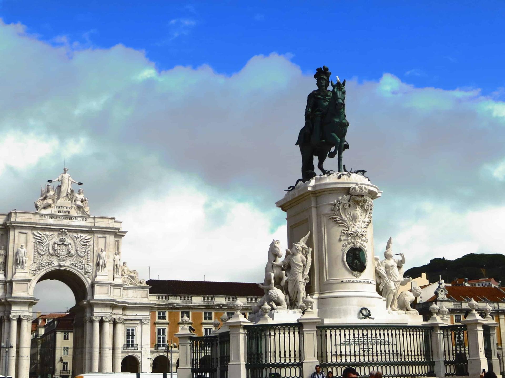 00 Citytrip Lissabon Portugal Praca do Comercio