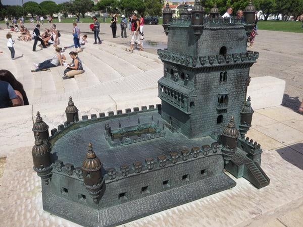 16_Modell-des-Torre-de-Belem-Lissabon-Portugal