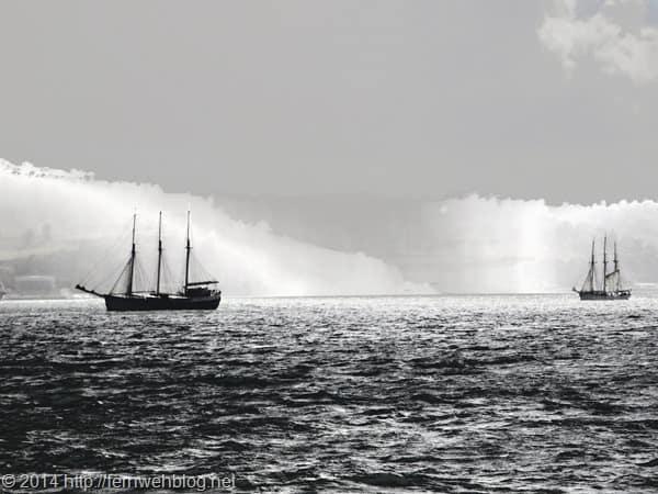 19_Segelschiffe-Lissabon-Portugal-Tejo-monochrom