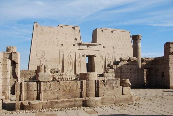 05_Horus-Tempel-Edfu-Aegypten-Nil-Nilkreuzfahrt