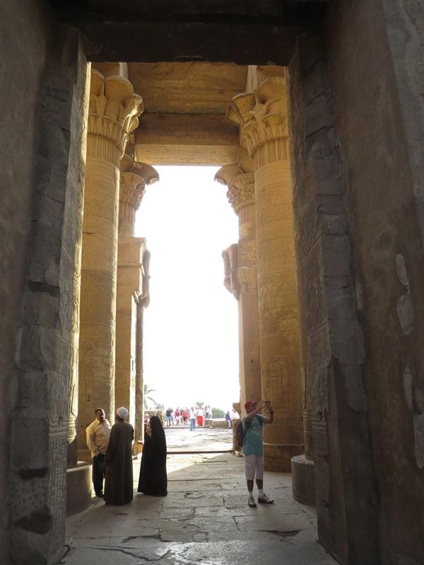 13_Saeulensaal-Doppeltempel-Kom-Ombo-Nilkreuzfahrt-Nil-Aegypten