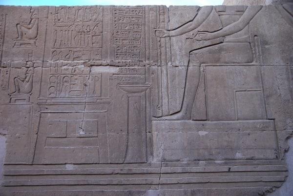 17_Rezepturen-Doppeltempel-Kom-Ombo-Nilkreuzfahrt-Nil-Aegypten