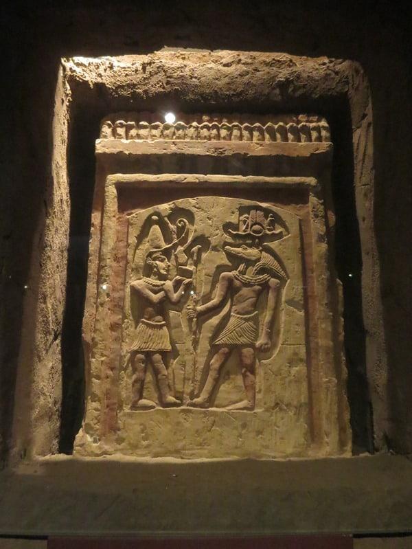 24_Krokodilgott-Sobek-Krokodilmuseum-Kom-Ombo-Nilkreuzfahrt-Nil-Aegypten
