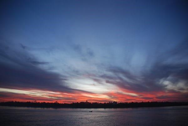 28_Sonnenuntergang-Nil-Nilkreuzfahrt-Aegypten