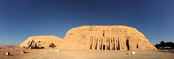 23_Panorama-Abu-Simbel-menschenleer-Aegypten-Nilkreuzfahrt