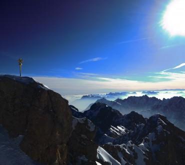 Zugspitze – Bilder vom Gipfel Deutschlands