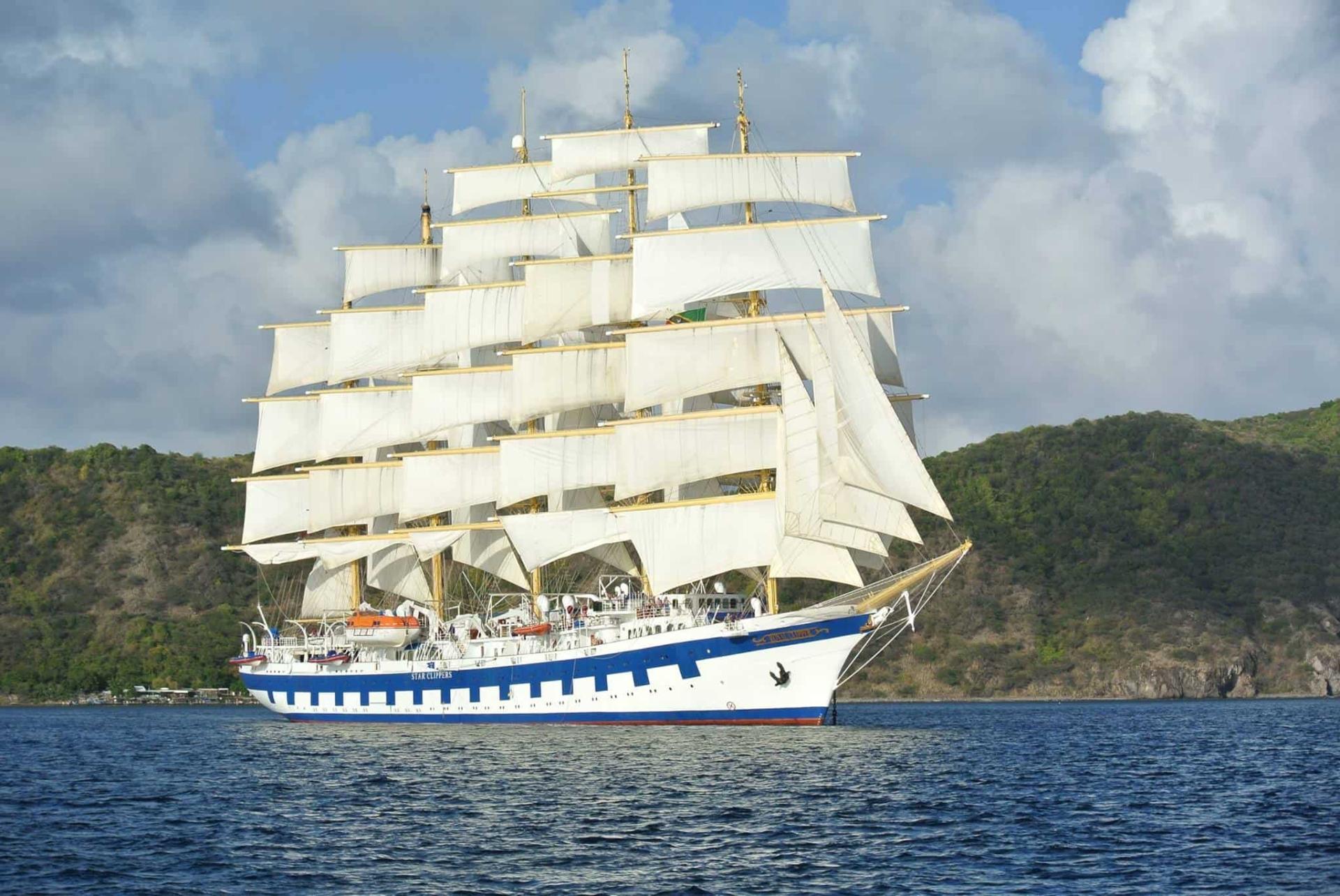 00 Royal Clipper Kreuzfahrtschiff Tall Ship Karibik