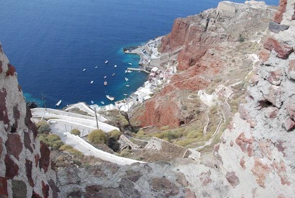 12_Fischerhafen-Oia-Ia-Santorin-Griechenland-Kykladen