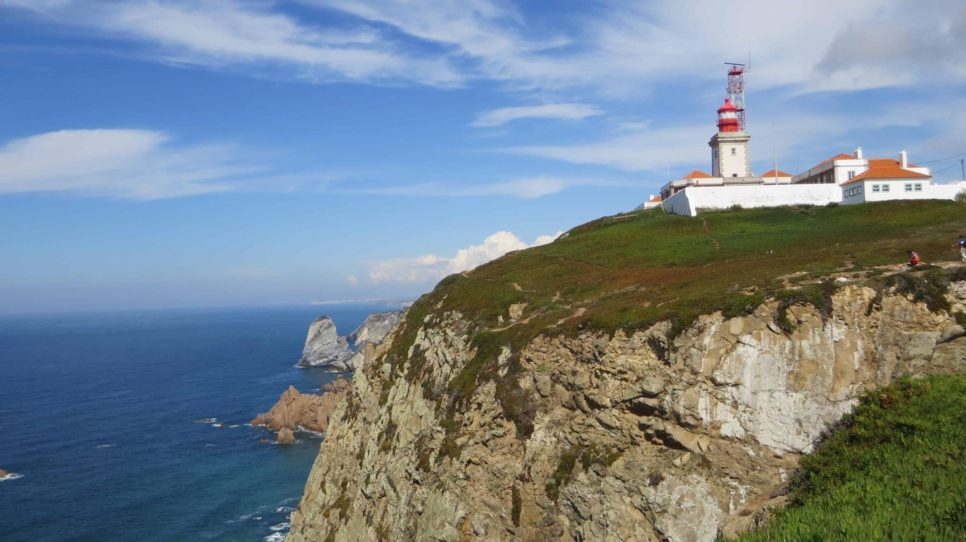 Cabo da Roca westlichster Punkt Europas Portugal Leuchtturm