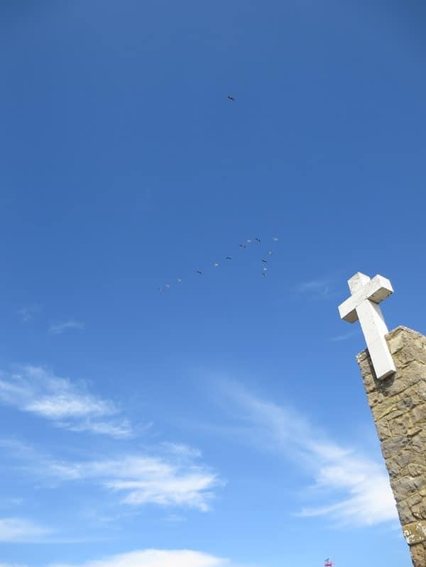 15_Vogelschwarm-Cabo-da-Roca-Kreuz-Portugal