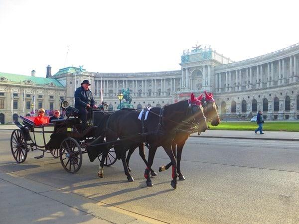 11_Fiaker-Wiener-Hofburg-Wien-Oesterreich