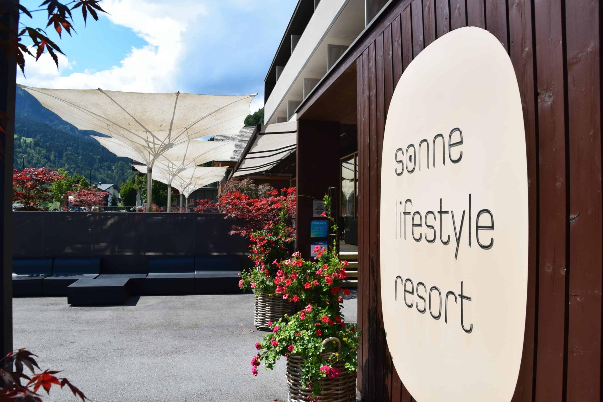 00 Hotel Sonne Lifestyle Resort Mellau Bregenzerwald Vorarlberg Oesterreich