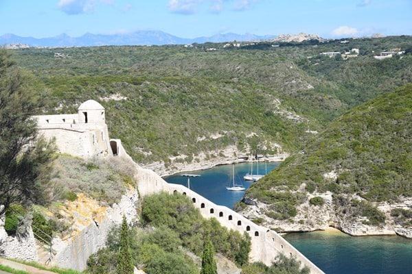 13_Bastion-de-l´Etendard-Festung-Bonifacio-Korsika-Frankreich