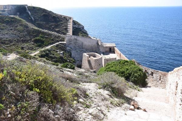 14_Bastion-de-l´Etendard-Festung-Bonifacio-Korsika-Frankreich