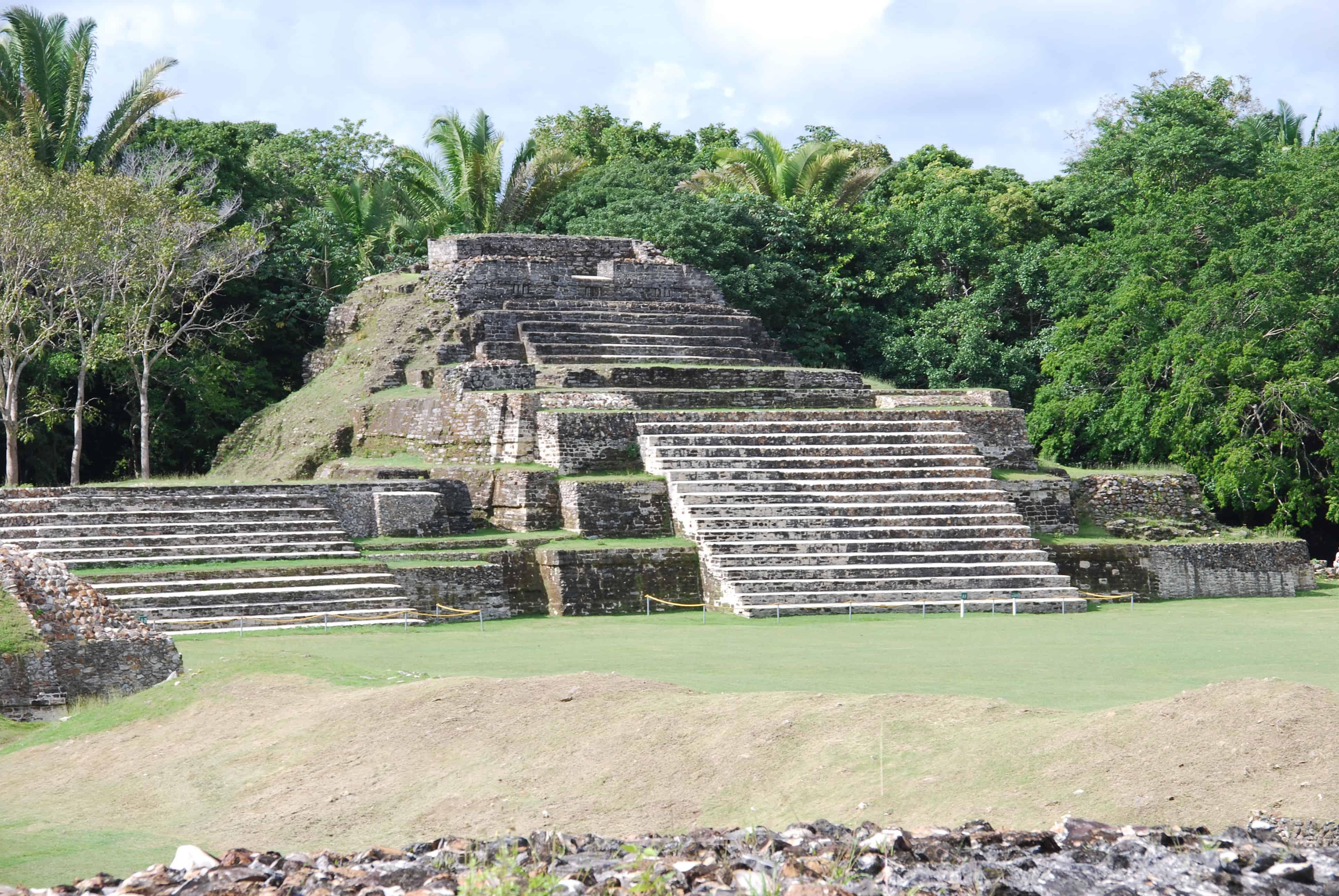 00 Maya Tempelanlage Altun Ha Belize
