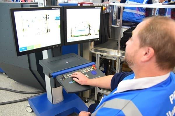 08_Probebetrieb-Satellit-Terminal-2-Flughafen-Muenchen-Sicherheitskontrolle