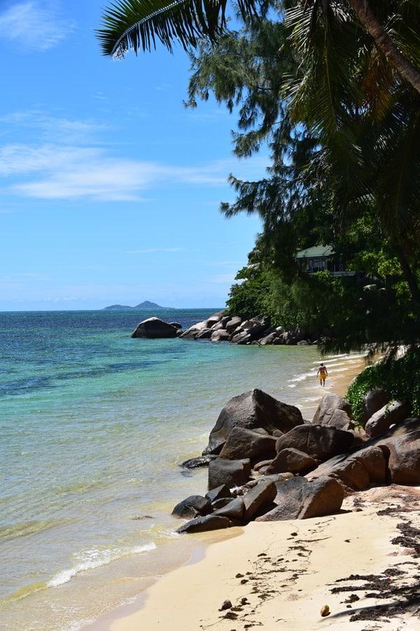 30_Traumstrand-am-Coco-de-Mer-Hotel-Strand-Anse-Cimetiere-Praslin-Seychellen