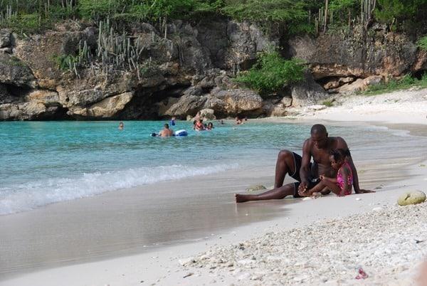 14_Flitterwochen-Karibik-Curacao-ABC-Inseln-Strand-Grote-Knip