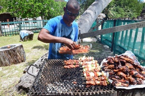 27_Barbecue-Naturschutzgebiet-Marine-National-Park-Curieuse-Seychellen