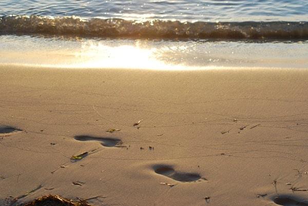 30_Flitterwochen-Malediven-Spuren-im-Sand