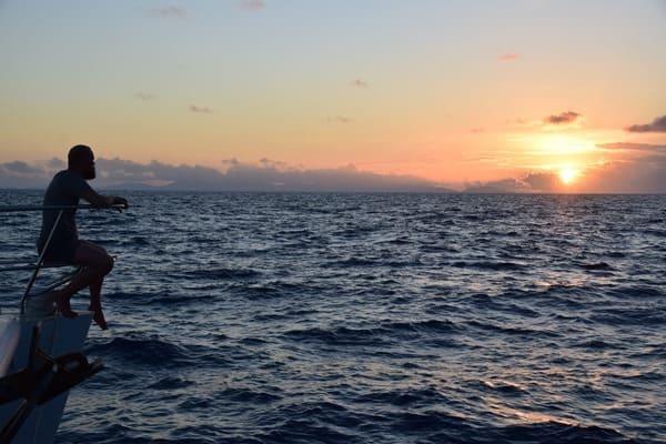 39_Sonnenuntergang-Katamaran-Seychellen