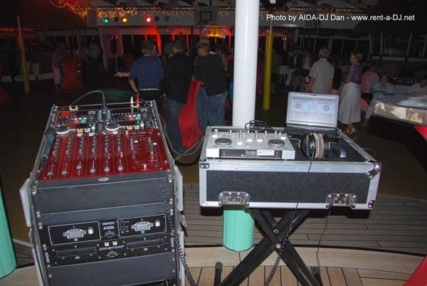 DJ-Equipment-Pooldeck-Kreuzfahrtschiff-AIDAvita