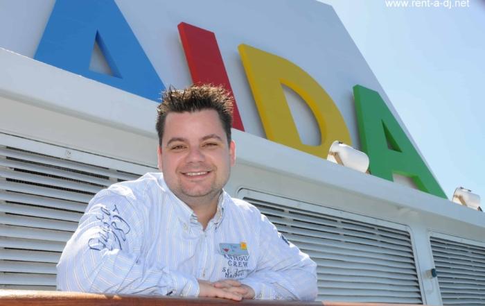 Reiseblogger Kreuzfahrtblogger Daniel Dorfer alias AIDA DJ Dan