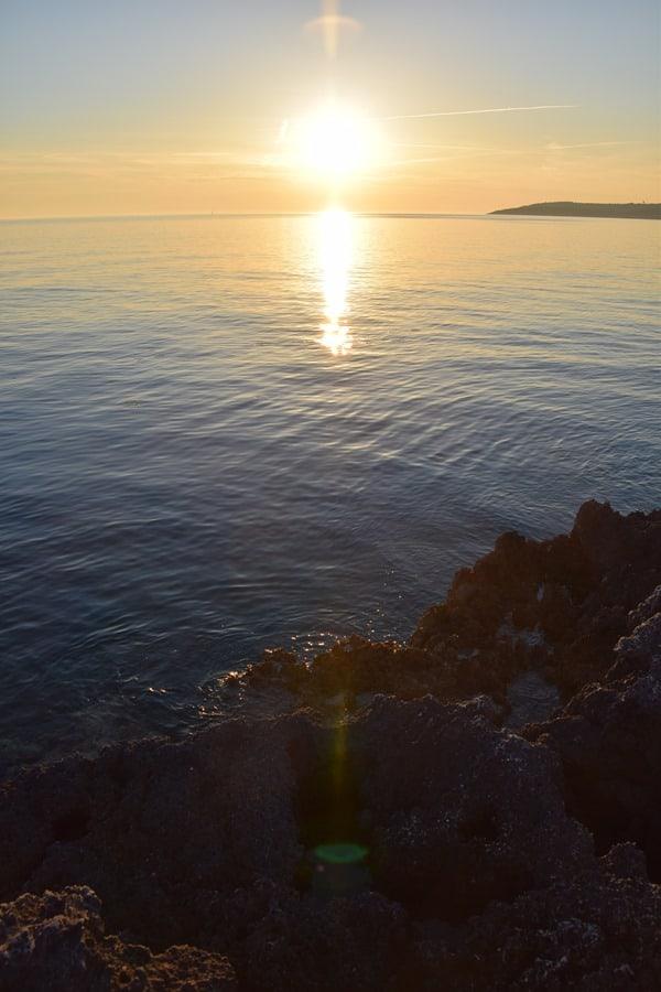 25_Sonnenuntergang-Strand-Naturpark-Kamenjak-Istrien-Kroatien