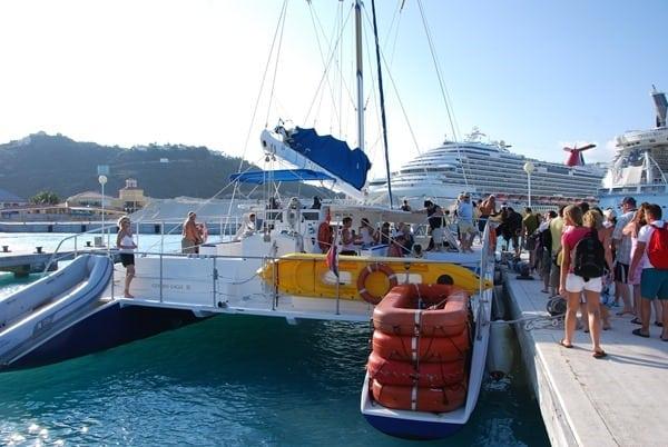 Katamaran-Ausflug-Saint-Martin-Karibik