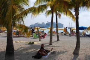 Kreuzfahrt-Saint-Martin-Karibik-Strand