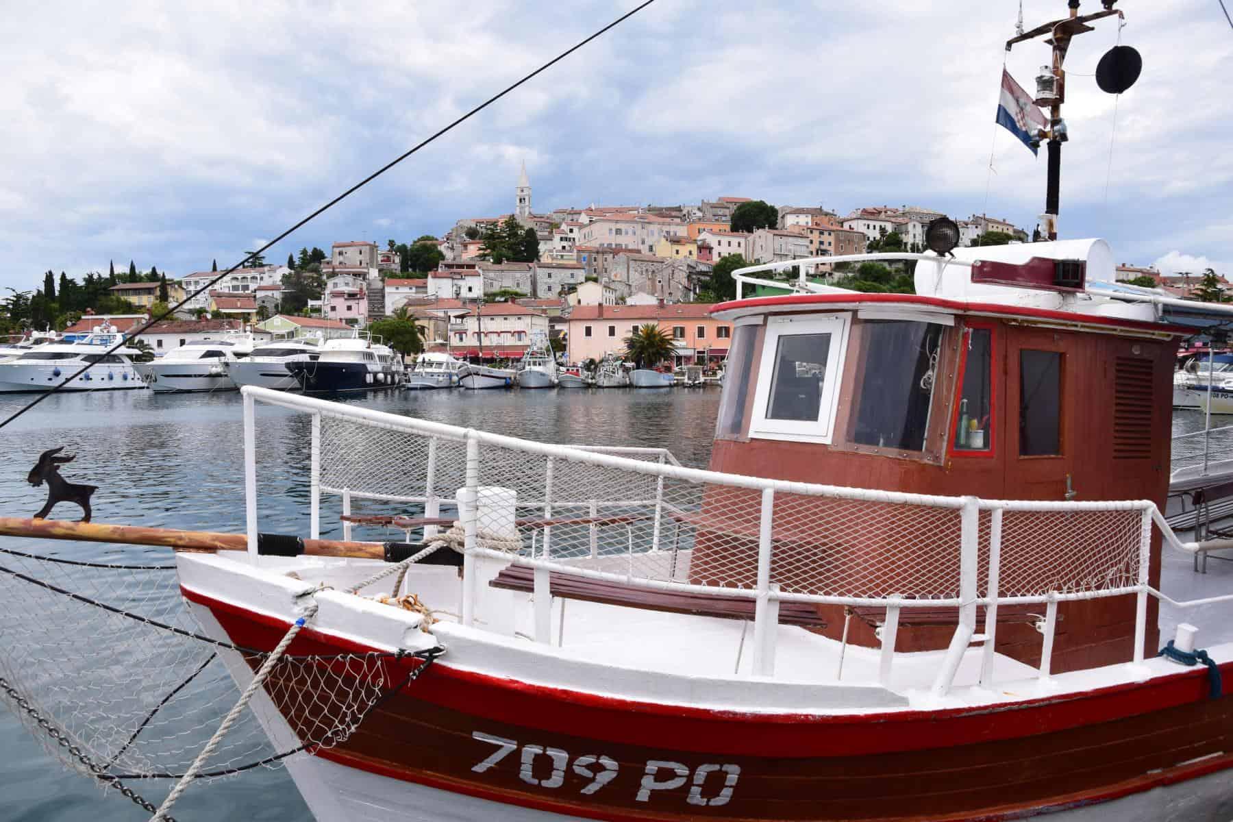 000 Hafen Vrsar Istrien Koratien