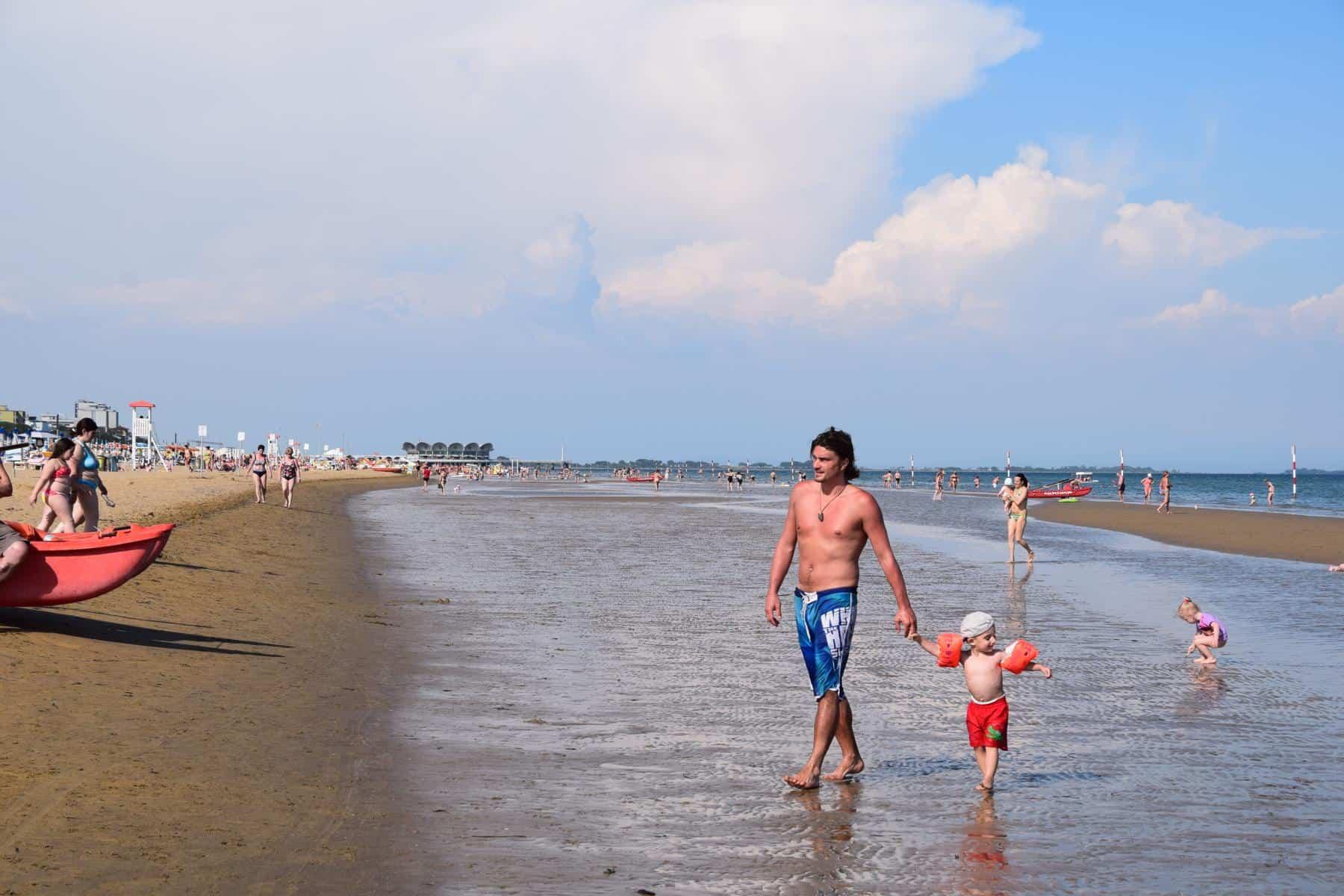 000 Lignano Sabbiadoro Strandurlaub Italien Adria